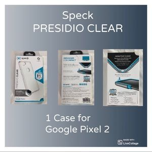 Speck Presidio Clear Case for Google Pixel 2